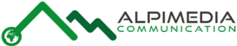 Alpimedia Communication Logo